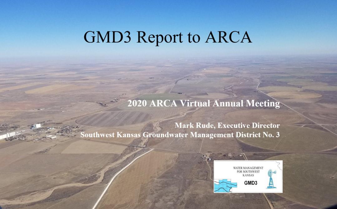 2020 ARCA Virtual Annual Meeting